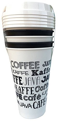 Aladdin 5 Reusable To-go Cups - Fresh Coffee White