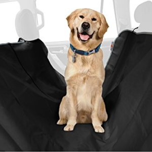 ASPCA Water Resistant Pet Car Seat Cover & Free Travel Bowl 12