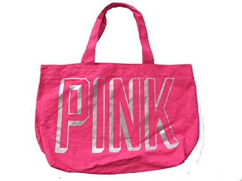 Victoria's Secret LOVE PINK Gypsy Rose Pink Large Tote GYM Book Bag ~ Sold Out