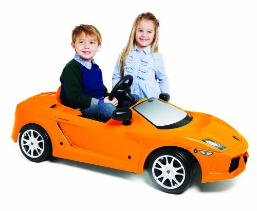 Toys Toys Lamborghini Gallardo 12V Ride On, Orange