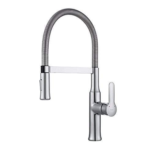 Kraus KPF-1640CH Nola Kitchen Faucet, KPF-1640 Chrome