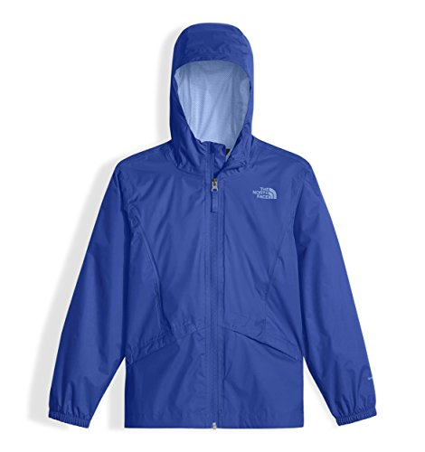The North Face Kids Girl's Zipline Rain Jacket (Little Kids/Big Kids) Dazzling Blue/Collar Blue/Collar Blue X-Large
