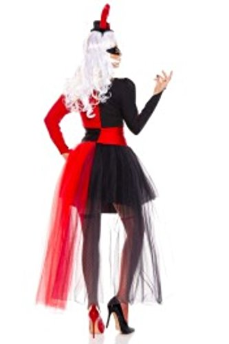 4-PC-Ladies-Steampunk-Harley-Strapless-Dress-Costume-Set