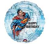 Superman 'Happy Birthday' Foil Mylar Balloon (1ct)