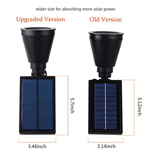 InnoGear-Upgraded-Solar-Lights-2-in-1-Waterproof-Outdoor-Landscape-Lighting-Spotlight-Wall-Light-Auto-OnOff-for-Yard-Garden-Driveway-Pathway-Pool