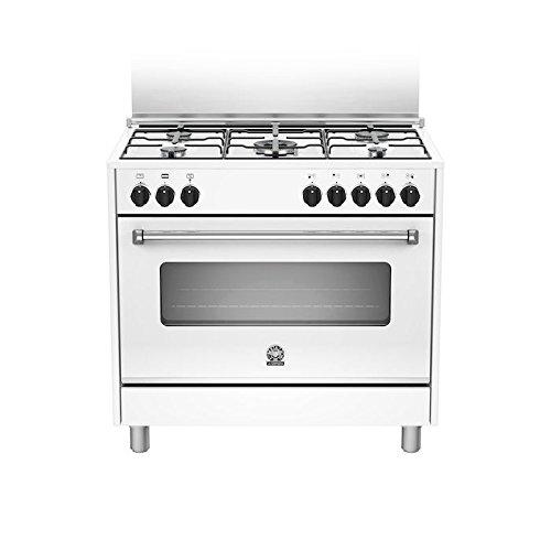 Bertazzoni La Germania Americana Amn905mfeswe Cucina Piano Cottura Bianco Gas B