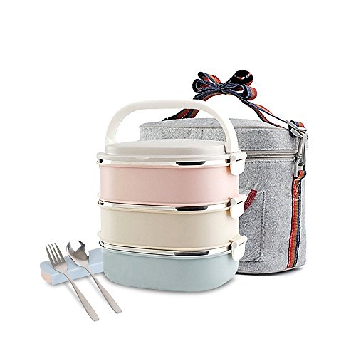 Unichart Stainless Steel Square Lunch Box
