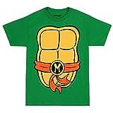 Teenage Mutant Ninja Turtles TMNT Michelangelo Costume T-Shirt-Small