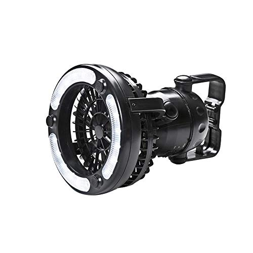 LHIABNN-Portable-LED-Camping-Lantern-2-in-1-Outdoor-Camping-Fan-Cool-Supplies-Tent-Light-Equipment-Glamping-Essentials-Accessories-Best-Portable-Lamp-for-Men-Women-Kids-Boy