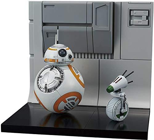 Bandai-Hobby-Star-Wars-Model-Kit-112-BB-8-D-0-Diorama-Set-Multi