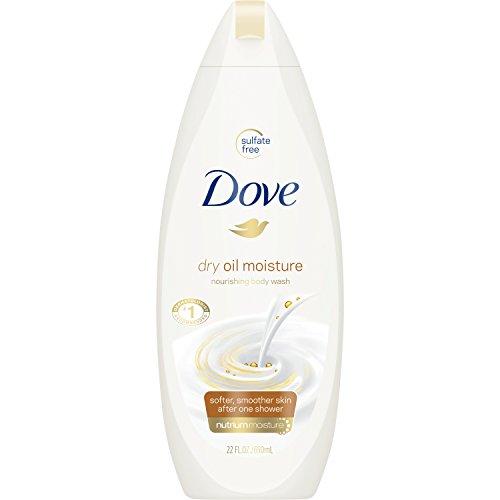 Dove Body Wash, Dry Oil Moisture, 22 oz