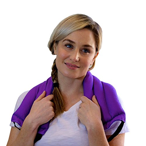 My Heating Pad- Multi Purpose Wrap - Soothing Heat Therapy - Microwavable - Arthritis Pain Relief (Purple)