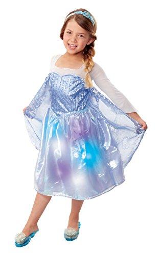Frozen 30273 Northern Lights Elsa Musical Light Up Dress