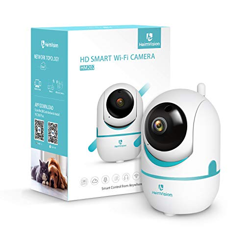 Heimvision HM202 1080P Wireless Security Camera with Smart Night Vision/ PTZ/ Two-Way Audio, 2.4Ghz WiFi Home Surveillance IP Camera for Baby/ Elder/ Pet/ Nanny Monitor