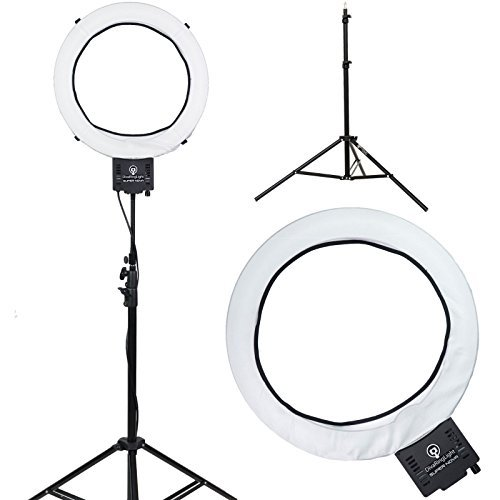 Diva Ring Light Super Nova 18″ Dimmable Photo/Video Light with 6′ Light Stand