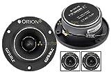 Orion CTW1.7HP Cobalt Series 3.8' 300W Peak Power Pro Audio Car Stereo Speaker Super Tweeters