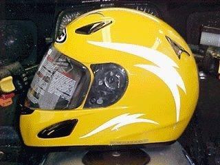 Reflective Motorcycle Helmet Decals Best Helmet - Custom reflective helmet decals motorcycle