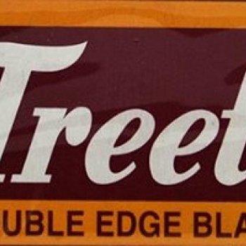 100 Treet Carbon Steel 'The Black Beauty' Double Edge Safety Razor Blades