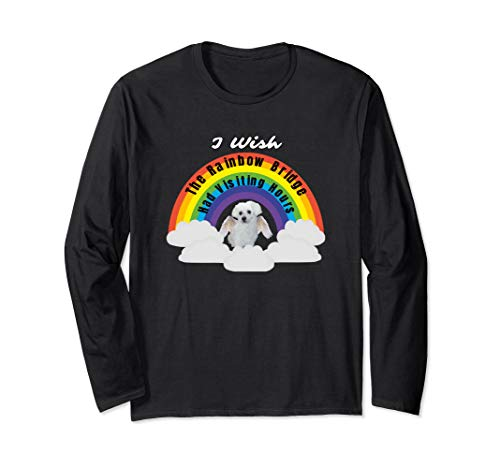 I Wish The Rainbow Bridge Had Visiting Hours Maltese Dog Tee