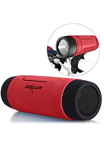 Bluetooth Bicycle Speaker Zealot S1...