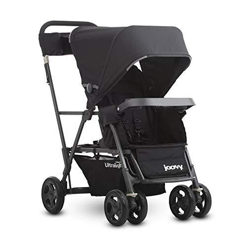 Joovy Caboose Ultralight Graphite Stroller, Black