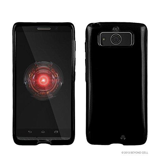 PimpCase Designed for Droid Mini Case, XT1030, Ultra Slim Fit Hybrid [Scratch Resistance] Flexible Black TPU Soft Gel Skin Phone Cover