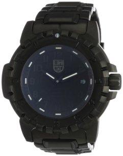 Luminox Men's 6402-BO F-117 Nighthawk Blackout Black Stainless Steel Watch