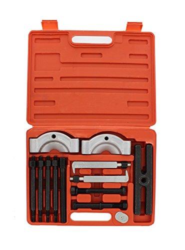 ABN Gear Puller and Bearing Separator Splitter 14-Piece Set – Heavy-Duty Kit – Vehicle Gear, Pulley, Steering Wheel, Ball Bearing