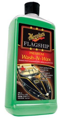 Meguiar's M4232 Marine Flagship Wash-N-Wax - 32 oz.