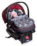 Baby Newborn Infant Footmuff Bunting Bag Sleep Sack for Carriers, Strollers, Joggers and Buggies | Soft Interior Fleece | Water Resistant | Universal Fit | 0-10 Months | Adorable Bear Design!