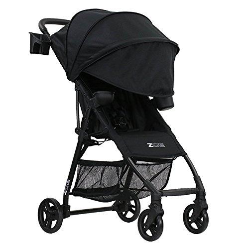 ZOE XL1 BEST v2 Lightweight Travel & Everyday Umbrella Stroller System (Black)