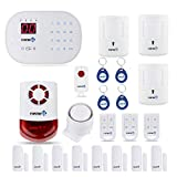 Compatible with Alexa App Controlled- Updated S03 WiFi Landline Security Alarm System Deluxe Pet Kit Wireless DIY Home and Business Security System by Fortress Security Store- Easy to install