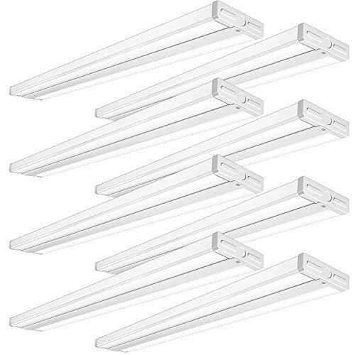 TychoLite-4FT-LED-Wraparound-Shop-Light-50W-4-Foot-Flush-Mount-Ceiling-Light-for-Garage-5500lm-4000K-LED-Wrap-Light-Ultra-Slim-4ft-LED-Ceiling-Light-for-Kitchen-Garage-Office-Laundry-8-Pack