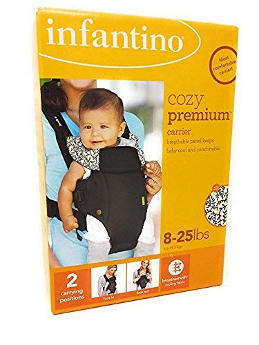 Infantino Cozy Premium 8-25lbs Baby Carrier, Blue