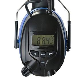 Protear Bluetooth Hearing Protection Earmuffs with Digital AM FM Radio,NRR 25dB Electronic Noise Reduction Headphones