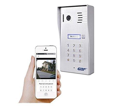 GBF New Upgraded -Global Wireless Video Doorphone & Doorbell WI-FI Intercom System Night Vision Weatherproof