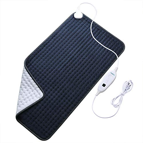 XXX-Large Heating Pad for Fast Pain Relief, Fda Approved, Electric 6 Heat Setting with...