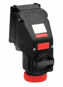 Explosion Proof Receptacle – C1D2 C2D1 – 277/480V – 63 Amps – 4-pole 5-wire – IP66