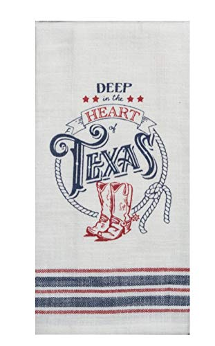 Texas Decor Kitchen Dish Towels