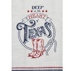 Texas Decor Kitchen Dish Towels