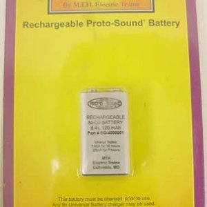 M.T.H. Electric Trains Protosound Battery, 8.4V 41XCnADj 2B 2BL