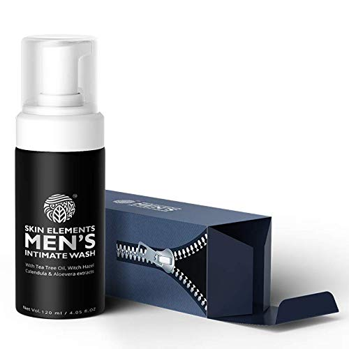Skin Elements Men's Intimate Wash, Blue, 120 ml 1  Skin Elements Men's Intimate Wash, Blue, 120 ml 41XF WxMFnL