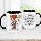 Emmeline Pankhurst Coffee Mug   Suffragette Feminist Quote Microwave Dishwasher Safe Cup