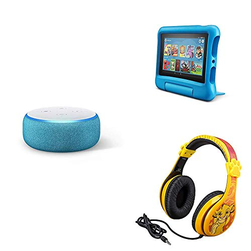*TODAY ONLY* Echo Dot Kids Edition + Fire 7 Kids Edition + Lion King Headphones