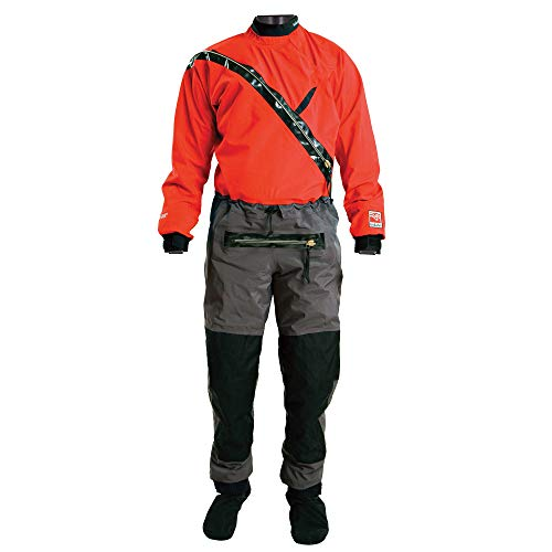 Kokatat Gore-Tex Front Entry Drysuit - Men's Chili, XL