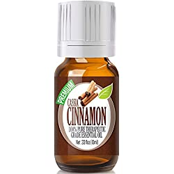 Cassia Cinnamon - 100% Pure, Best Therapeutic Grade Essential Oil - 10ml