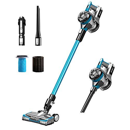 Eureka NEC222 HyperClean Cordless Vacuum Cleaner Super for All Carpet and Hardwood floor Stick Vacuum with Powerful Digital Motor, Handheld vacuum cordless