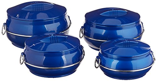 Cello-Daawat-Insulated-Casserole-Hot-Pot-Food-Warmer-4-Piece-Gift-Set-Assorted-ColorsColor-may-Varry