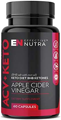Apple Cider Vinegar Keto Pills – Pure Ketosis with BHB Salts & MCT Oil – Antioxidant Action – Natural Energy for Weight Management– 60 Capsules 3