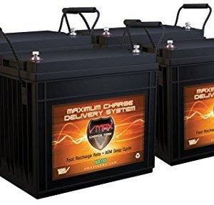 QTY 4 VMAX SLR155 8.4kWh Solar Off Grid Batteries AGM Deep Cycle 12 Volt 155ah ea. 12V 24V 48V Battery Bank for RV, Home, Business, Cabin, or Boats Charge via Solar, Alternator, AC Charger/Inverter